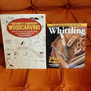 Woodcarving & Whittling Books